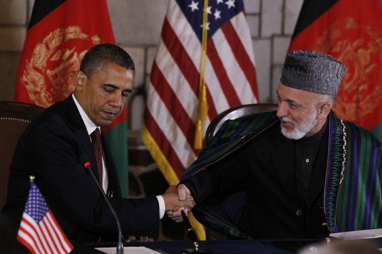 Ο Ομπάμα στο Αφγανιστάν ένα χρόνο μετά το θάνατο του μπιν Λάντεν | tovima.gr