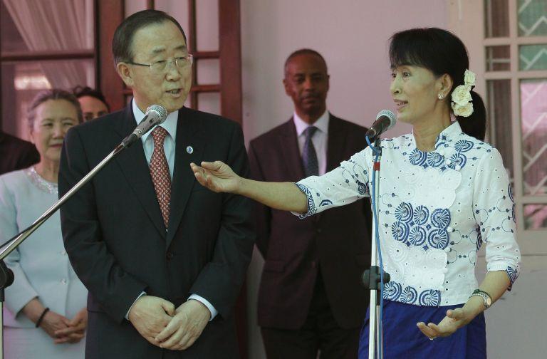 Μιανμάρ: Η Σούου Κίι συναντήθηκε για πρώτη φορά με τον ΓΓ του ΟΗΕ | tovima.gr