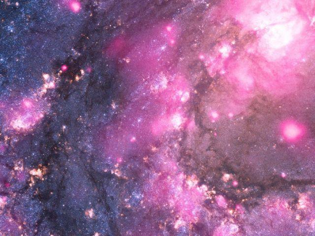 Μαύρη τρύπα «βάφει» ροζ έναν γαλαξία | tovima.gr