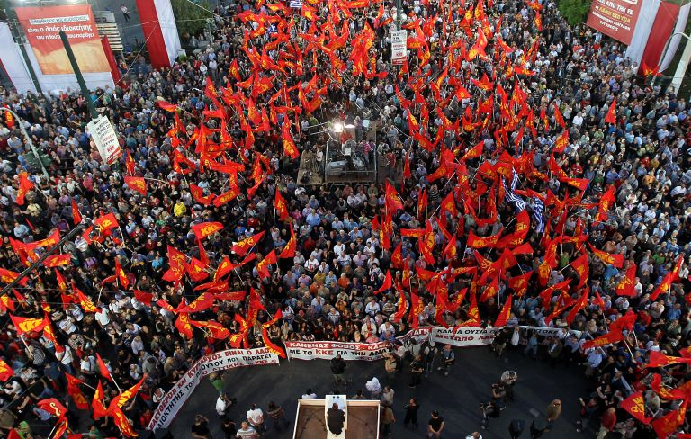 Αλέκα Παπαρήγα: «Εμείς θα υπάρχουμε και στις 7 Μαΐου» | tovima.gr
