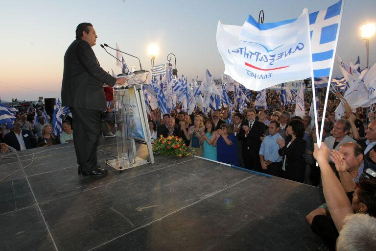 Π. Καμμένος: «Επικίνδυνοι είμαστε για όσους κλέβουν τους Ελληνες» | tovima.gr