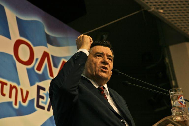 Γ. Καρατζαφέρης: «Θα ξαναχτίσω το κόμμα μόνος μου»   tovima.gr