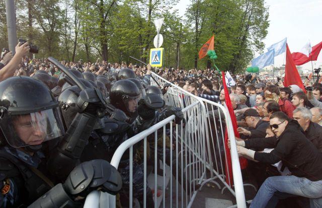 Δεκάδες συλλήψεις αντικυβερνητικών στη Ρωσία | tovima.gr