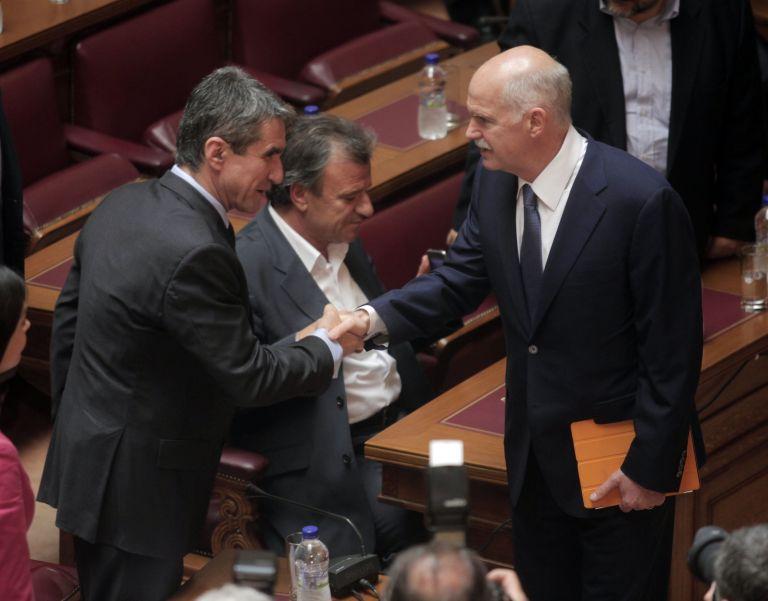 Σκληρή κόντρα Παπανδρέου-Λοβέρδου για την ένταξη της Ελλάδας στο ΔΝΤ | tovima.gr