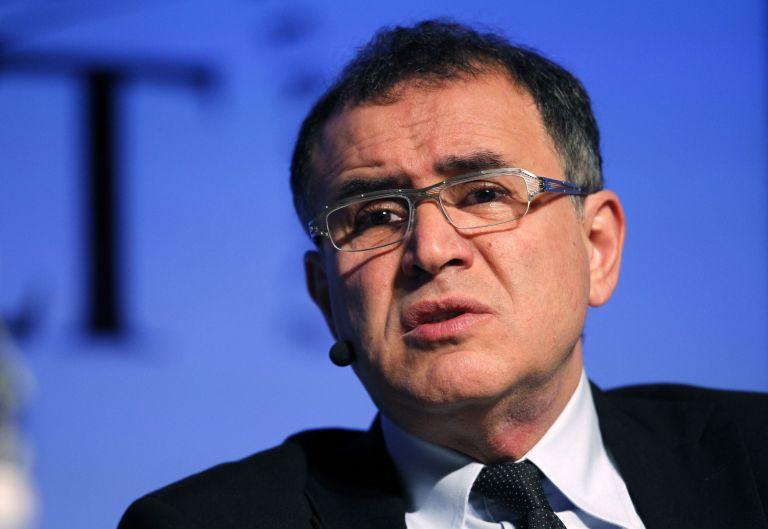 Ρουμπινί: Η Ελλάδα πρέπει να φύγει από την ευρωζώνη | tovima.gr