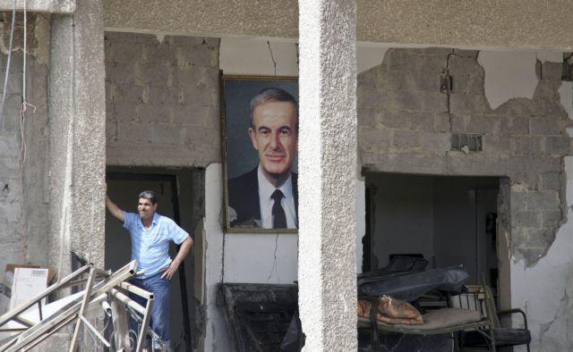 Συρία: Ο στρατός βομβαρδίζει την επαρχία Χομς   tovima.gr