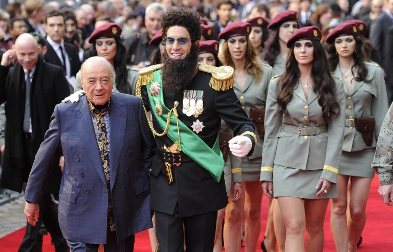 Η πρώτη επίσημη του «Δικτάτορα» στο Λονδίνο | tovima.gr