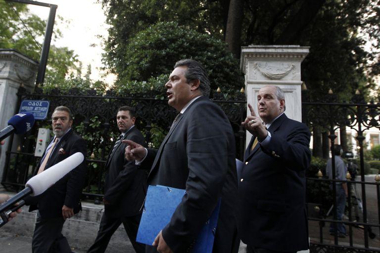 Πόλεμος ανακοινώσεων Καμμένου και Προεδρίας της Δημοκρατίας | tovima.gr