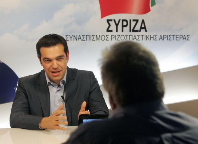 Οι πολιτικοί αρχηγοί στη διαδικτυακή τηλεόραση του ΑΜΠΕ | tovima.gr