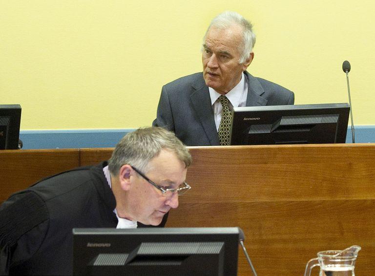 Χάγη: Αναβάλλεται επ'αόριστον η δίκη του Ράτκο Μλάντιτς | tovima.gr