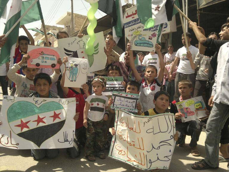 ΟΗΕ: Οι καθεστωτικοί στη Συρία χρησιμοποιούν παιδιά ως «ασπίδες» | tovima.gr