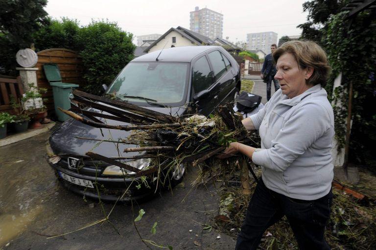 Γαλλία: «Πνίγηκε» από τη μπόρα το Νανσί | tovima.gr