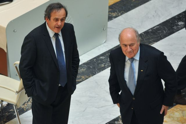 Απορρίφθηκαν οι εφέσεις Μπλάτερ και Πλατινί κατά του προσωρινού αποκλεισμού τους   tovima.gr
