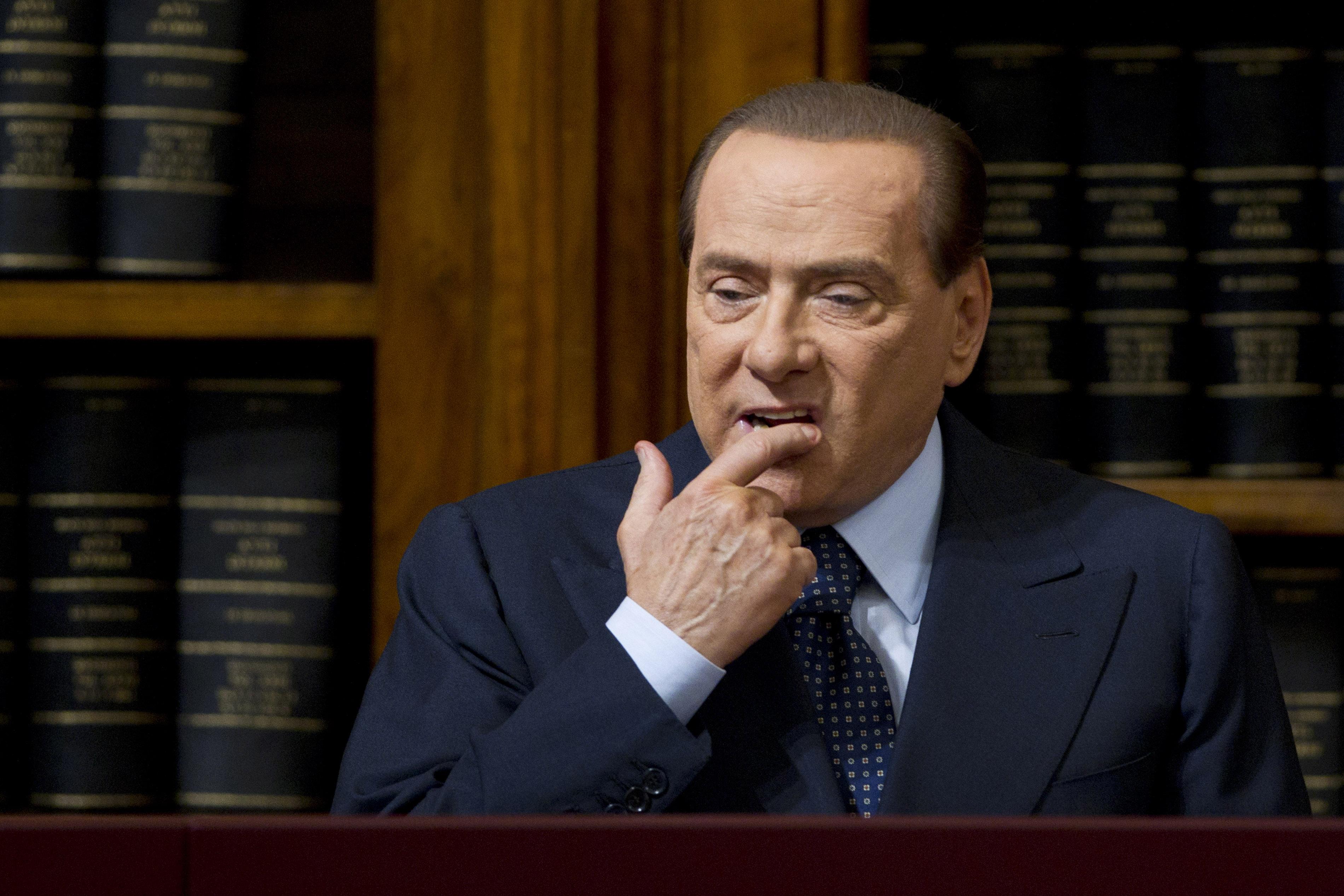 Μπερλουσκόνι  «Η καταδίκη μου είναι το τέλος της Δημοκρατίας ... cb93611a30e