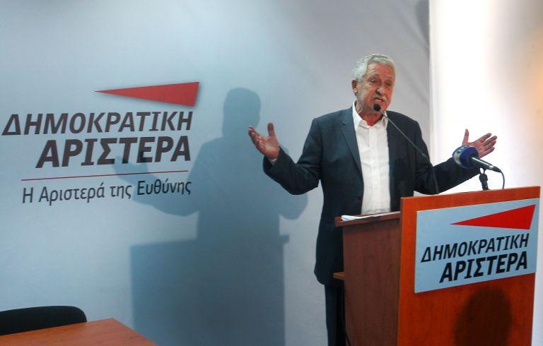 Κουβέλης:«Δεν θα γίνουμε ο τρίτος πόλος στην καρικατούρα του δικομματισμού»   tovima.gr