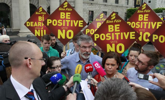 Την Πέμπτη το δημοψήφισμα των Ιρλανδών για το Δημοσιονομικό Σύμφωνο | tovima.gr