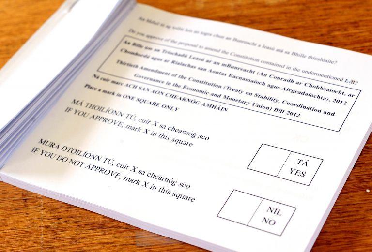 Η Ιρλανδία στην τροχιά του δημοψηφίσματος για το Σύμφωνο | tovima.gr