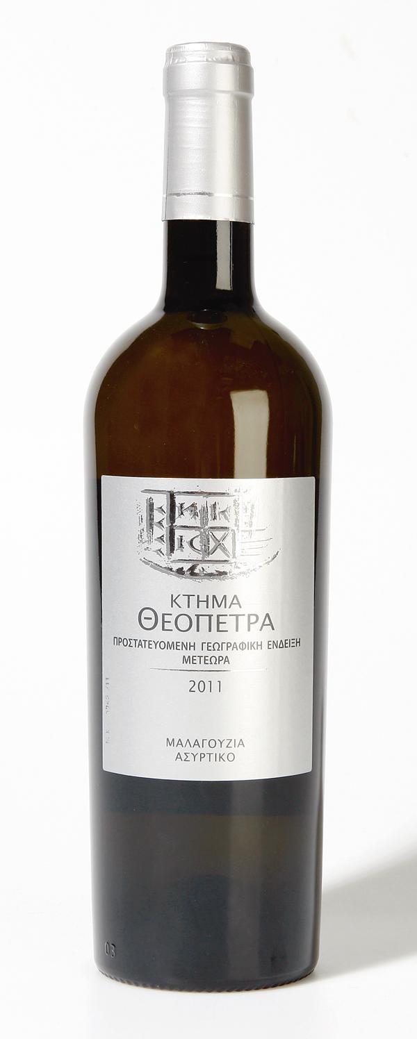 Κτήμα Θεόπετρα Λευκό 2011   tovima.gr