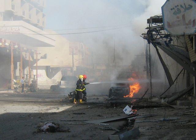 Πολύνεκρες βομβιστικές επιθέσεις στο Ιράκ   tovima.gr