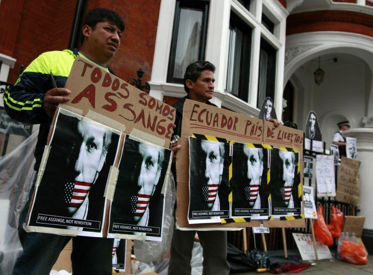 Λονδίνο: Εντός της εβδομάδας απαντά ο Ισημερινός για τον Ασάνζ | tovima.gr