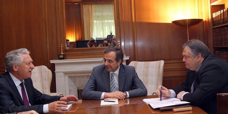 Συνάντηση των τριών κυβερνητικών εταίρων – Δύσκολη η εξίσωση των 11,5 δισ. | tovima.gr