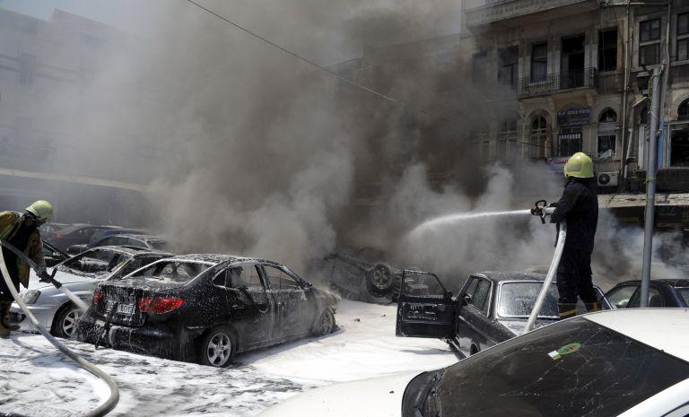 Συρία: Ισχυρή έκρηξη στο κέντρο της Δαμασκού | tovima.gr
