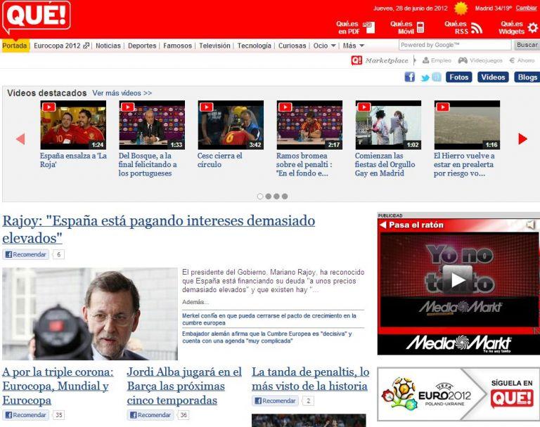 Ισπανία: η τρίτη δωρεάν εφημερίδα διακόπτει την κυκλοφορία της | tovima.gr