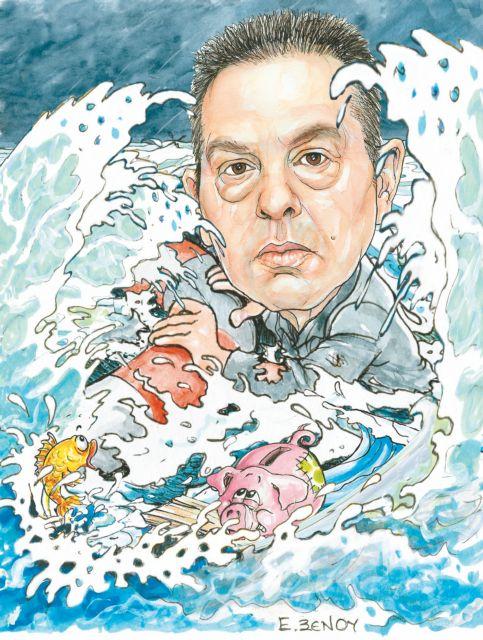 Ενας κολυμβητής στη φουρτούνα της κρίσης | tovima.gr