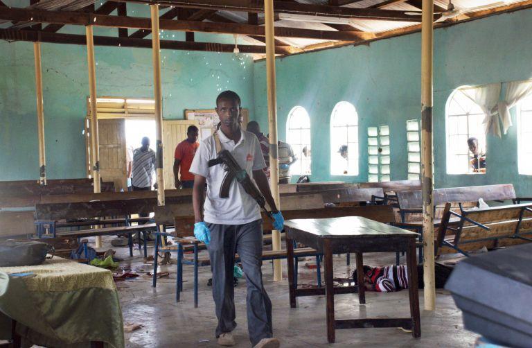 Β. Κένυα: Διπλή φονική επίθεση σε εκκλησία   tovima.gr