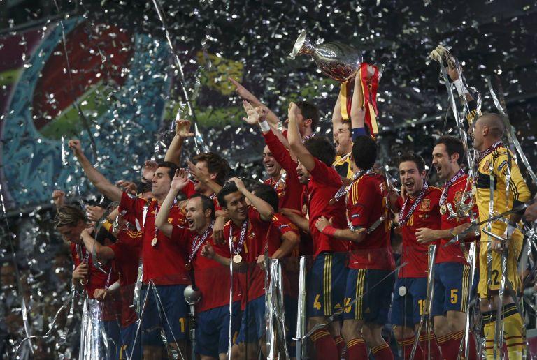 Euro 2012: Ραψωδία ποδοσφαιρικής τελειότητας για την Ισπανία   tovima.gr