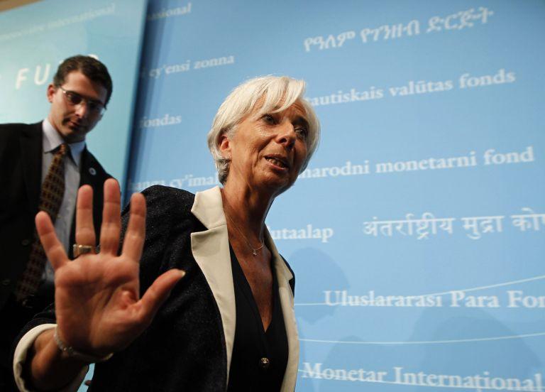 Λαγκάρντ: δεν υπάρχει διάθεση αναδιαπραγμάτευσης του μνημονίου   tovima.gr