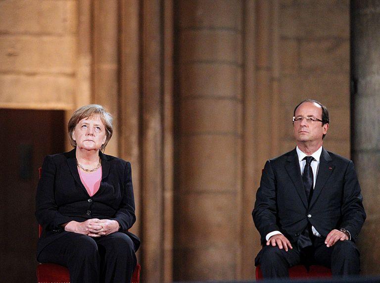 Κοινή γραμμή για την Ευρώπη αναζητούν Μέρκελ και Ολαντ | tovima.gr