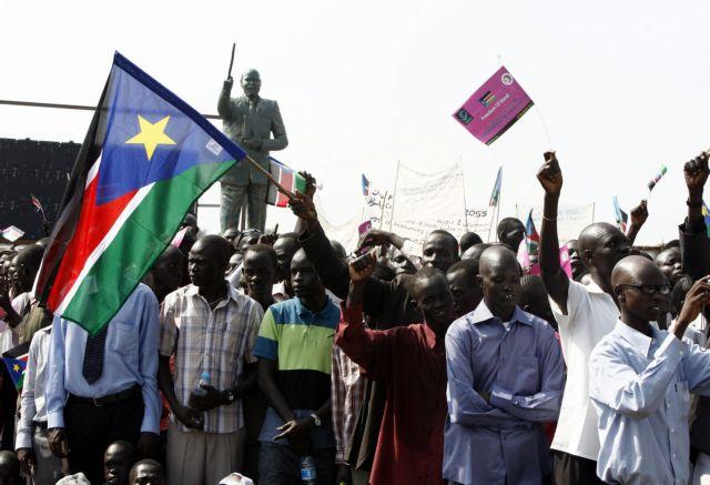 «Αγκάθια» αντι γιά κεράκια στα πρώτα γενέθλια του Νότιου Σουδάν   tovima.gr