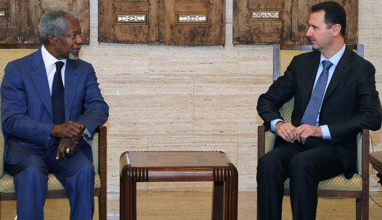 Κόφι Ανάν: Το Ιράν να γίνει μέρος της λύσης στη Συρία   tovima.gr