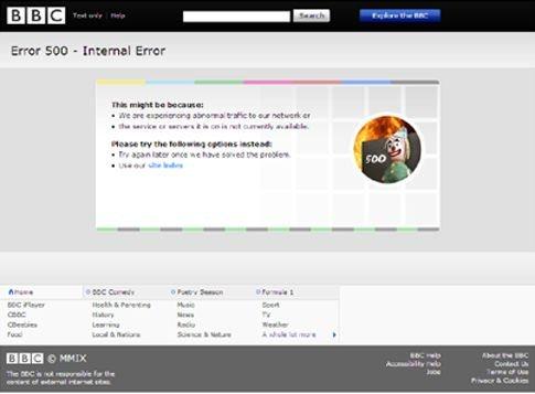 Εκτός λειτουργίας η ιστοσελίδα του BBC για λίγη ώρα | tovima.gr