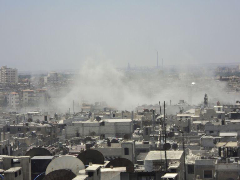 Β. Συρία: Σφυροκόπημα από τις δυνάμεις του Ασαντ τη νύχτα   tovima.gr