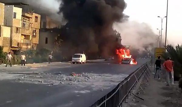 Συρία: Σκηνικό μάχης στην καρδιά της Δαμασκού   tovima.gr