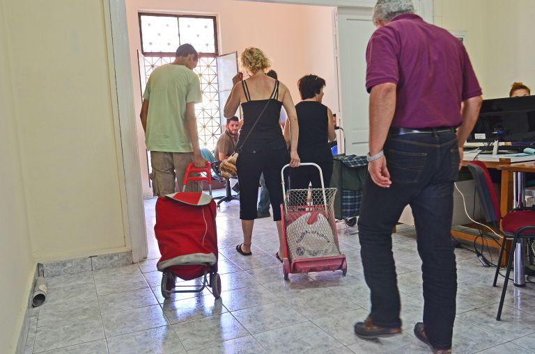 Κέντρο Αλληλοβοήθειας του Δήμου στον σταθμό Λαρίσης | tovima.gr