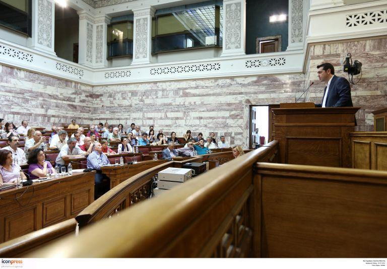 Σφοδρές αντιδράσεις από την Αντιπολίτευση στην ομιλία Σαμαρά | tovima.gr