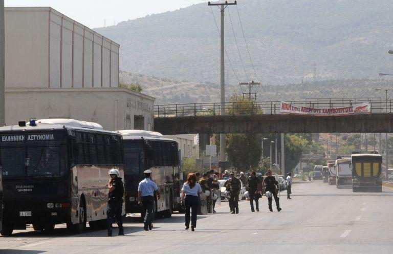 Ενταση στο εργοστάσιο της Χαλυβουργίας στον Ασπρόπυργο | tovima.gr