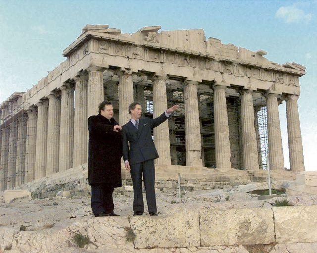 Ο Κάρολος θέλει να δώσει τα Γλυπτά   tovima.gr