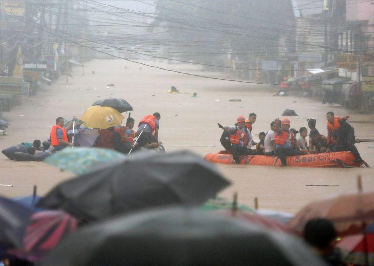 Φιλιππίνες: Τουλάχιστον 68 νεκροί από τους μουσώνες   tovima.gr