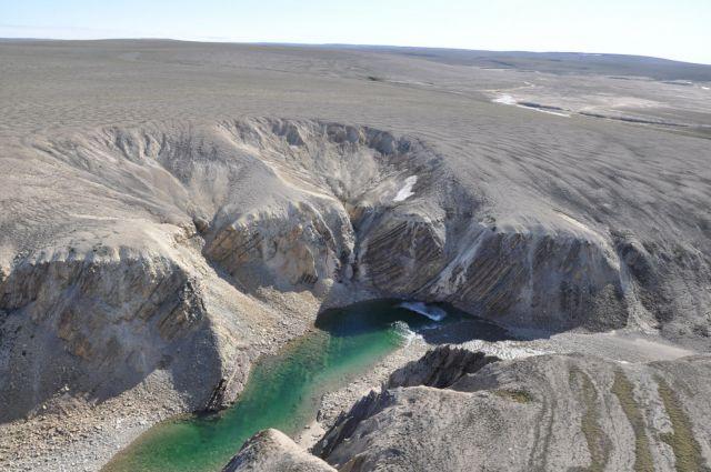 «Αγνωστος» γιγάντιος κρατήρας στον Καναδά   tovima.gr