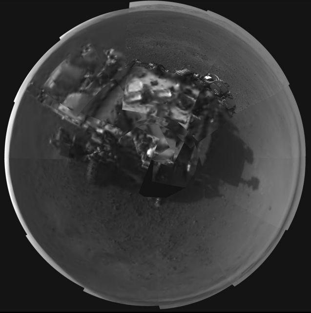 Η αυτοπροσωπογραφία του Curiosity   tovima.gr