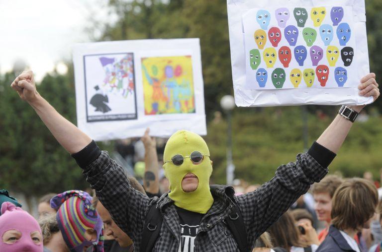 Διεθνείς αντιδράσεις για την καταδίκη των Pussy Riot | tovima.gr