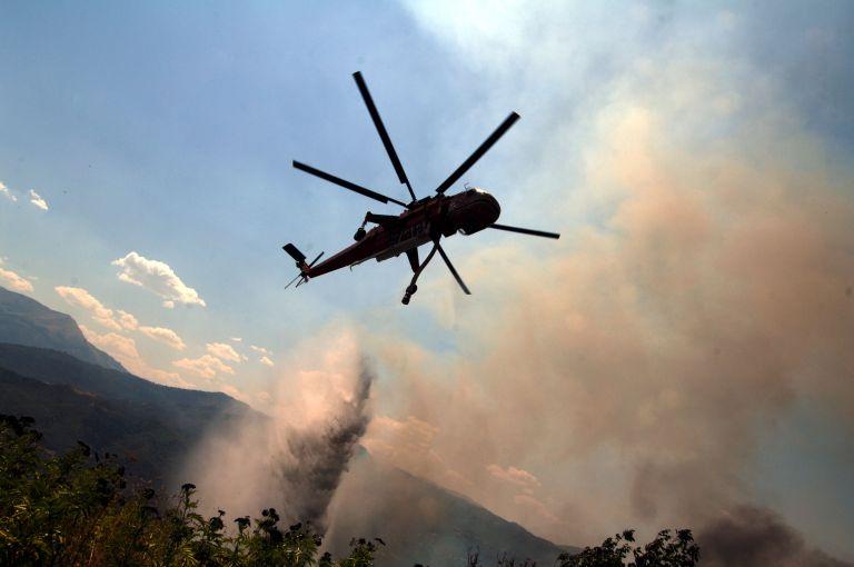 Υπό έλεγχο η πυρκαγιά στις Αφίδνες- Πύρινο μέτωπο στην Κύμη   tovima.gr