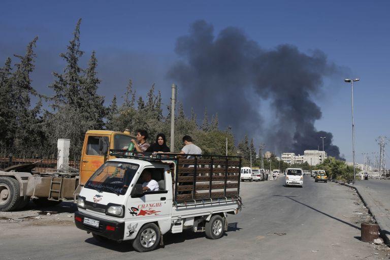 Συρία: συνετρίβη ελικόπτερο στη Δαμασκό | tovima.gr