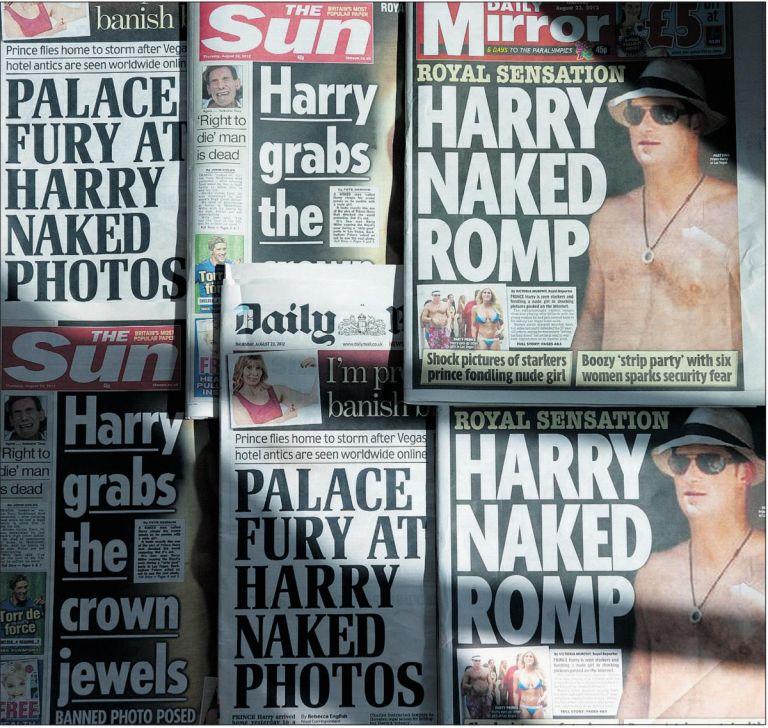 Ρ. Μέρντοκ: «Τυπώστε τις γυμνές φωτογραφίες του Χάρι» | tovima.gr