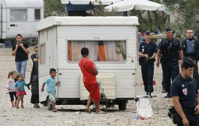 Κατακραυγή για την νέα διάλυση καταυλισμού Ρομά κοντά στο Παρίσι   tovima.gr