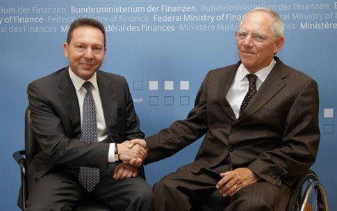 Σόιμπλε και Στουρνάρας εξέτασαν και «εναλλακτικές λύσεις» | tovima.gr